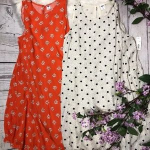 {Old Navy} swing dress bundle size small NWT